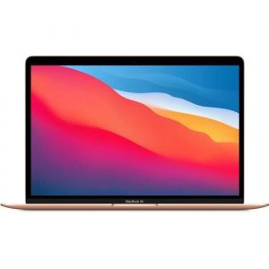 "Apple - 13,3"" MacBook Air (2020) - Puce Apple M1 - RAM 8Go - Stockage 256Go - Or - AZERTY"