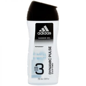 Gel douche 3 en 1 Adidas Dynamic Pulse 250 ml